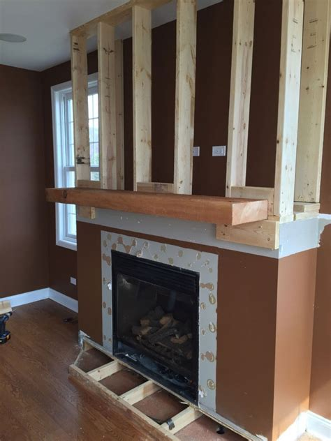 fireplace veneer installation a diy veneer installation step by step