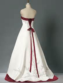 Wedding addict timeless red and white wedding dresses