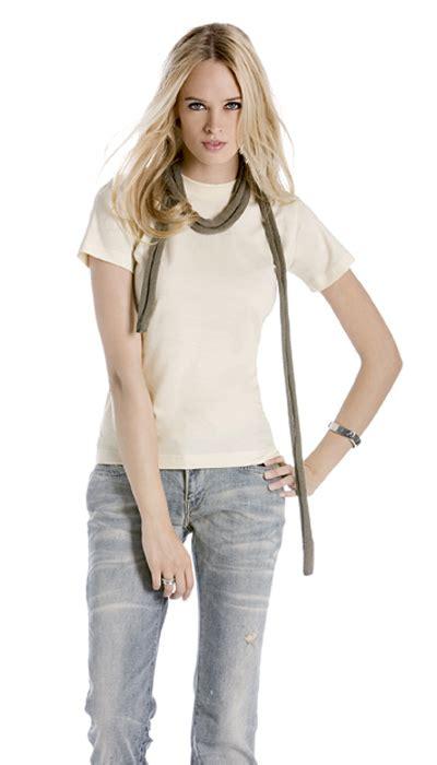 Blouse Xl Twb Hm Bc Twb01 Ladies Short Sleeve Crew Neck T Shirt