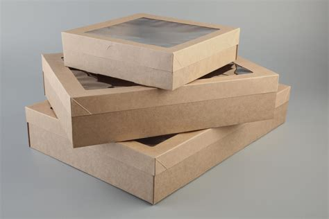 Box Catering Plastik catering box small sydney gelato packaging