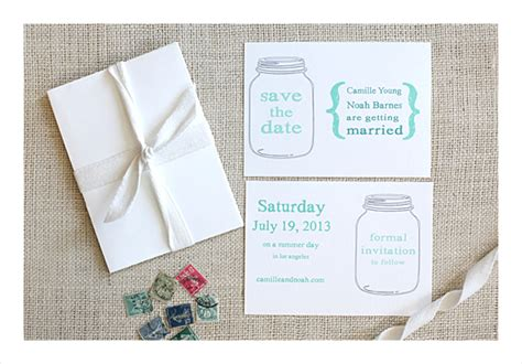 Wedding Invitation Template Mason Jar Weddingplusplus Com Jar Invitation Template