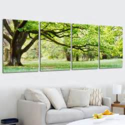 landscape canvas prints modern printed multi combination tree painting picture