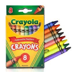 crayola crayons colors crayola crayons classic colors nontoxic 8 pack 52 3008