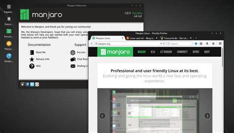tutorial manjaro linux deutschsprachige webseite zu manjaro linux online linux
