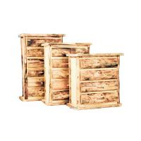 spencer 5 drawer chest living rooms dining rooms handcrafted rustic aspen log furniture and pine log