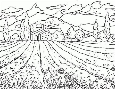 imagenes de paisajes faciles para colorear dibujos de paisajes rurales para colorear colorear im 225 genes