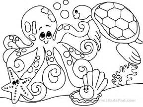 sea animals coloring pages to print ocean coloring pages getcoloringpages com