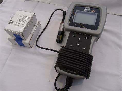 Do Meter Ysi 550a Ysi 550a Dissolved Oxygen Meter 12 Probe Advanced