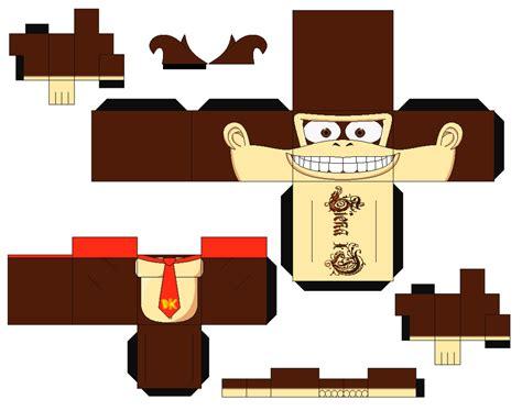 Kong Papercraft - kong by zienaxd on deviantart
