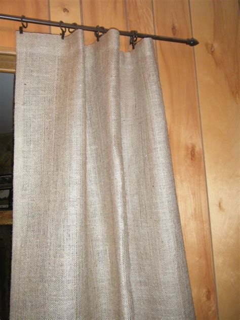 shower curtain with grommet top burlap shower stall curtain 38 x 72 grommet top with