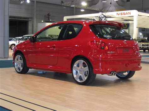 peugeot red peugeot 206 review and photos