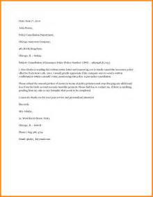Letter To Cancel Insurance Claim 4 Claim Notice Letter Reporter Resume