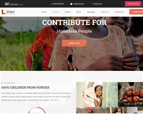 non profit website templates free non profit html website templates free premium