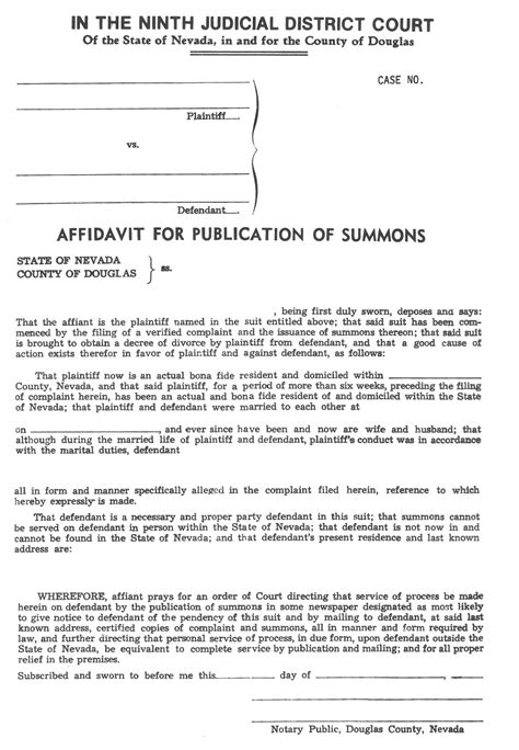 divorce affidavit template best photos of south carolina separation agreement