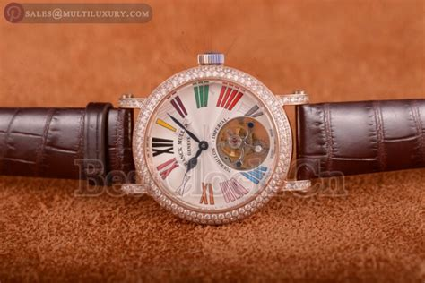 Franck Muller Color Dreams Rosegold Purple Leather color dreams buy replica watches on bestclock cn