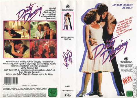 Dirty Dance dirty dancing vhscollector com your analog videotape