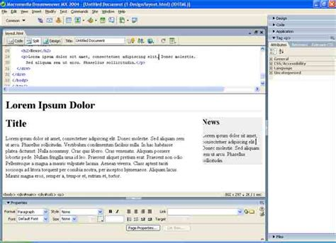 Tutorial Dreamweaver Mx | macromedia dreamweaver mx tutorial download