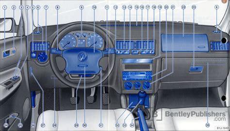 automotive service manuals 1994 volkswagen golf iii instrument cluster excerpt vw volkswagen owner s manual golf 2001 bentley publishers repair manuals and