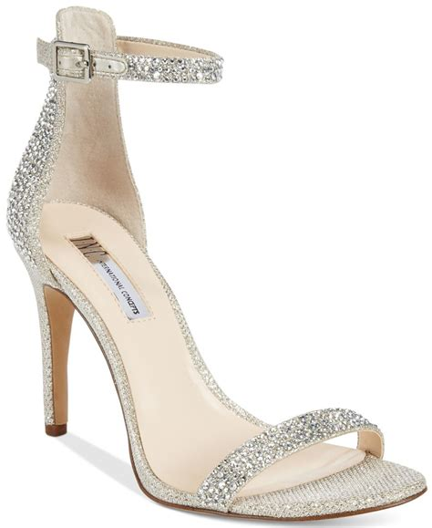 macy s high heels inc international concepts roriee rhinestone ankle