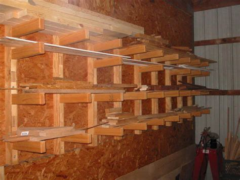 Build Lumber Storage Rack by Wood Rack Plans Building A R Before Storage Shed Plans