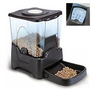 automatic feeder with timer new automatic pet cat feeder 4 meal timer schedule ebay