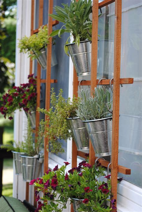Insanely Cool Herb Garden Container Ideas The Garden Glove Wall Hanging Herb Garden