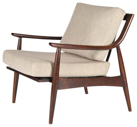 Midcentury Chair by Adam Chair Walnut Sand Midcentury Armchairs And