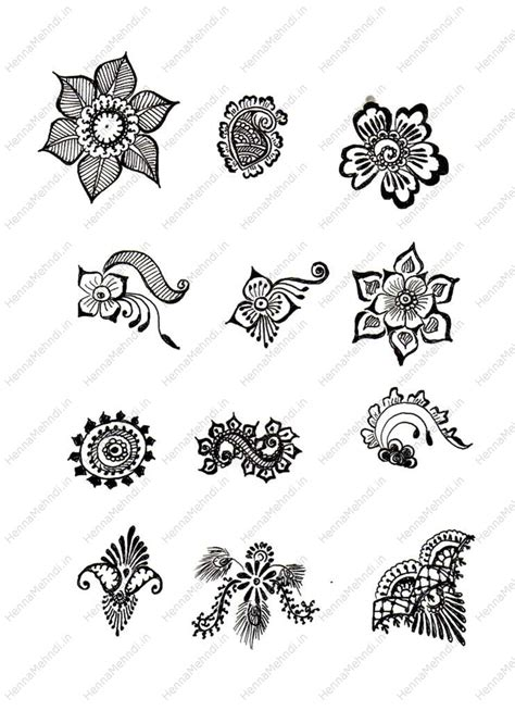 free easy henna tattoo designs free simple mehndi patterns on henna mehndi designs
