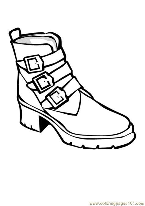 Tennis Shoe Coloring Pages Shoe Coloring Pages