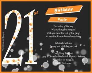 21St Birthday Party Invitations ? gangcraft.net