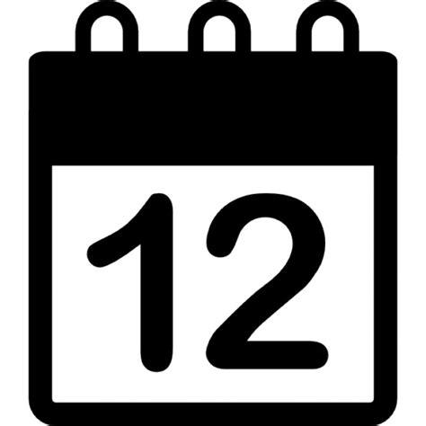 Calendario Diario Calendario Diario En El D 237 A 12 P 225 Descargar Iconos