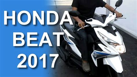 Visor Beat New 2017 Esp review dan test ride all new honda beat esp 2017 terbaru