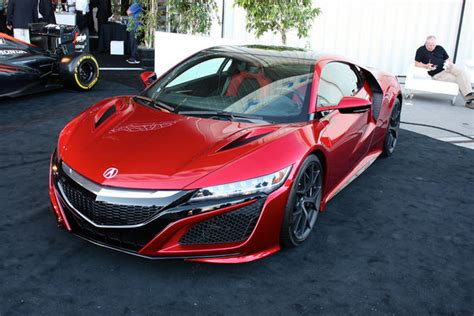 2016 acura nsx car review top speed