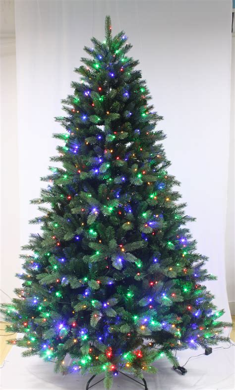 6ft ultra devonshire fir pre lit with multicoloured leds
