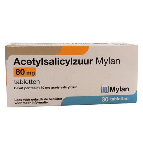 Tablet Glidabet 80 Mg 1 Isi 10 acetylsalicylzuur tablet 80mg per 30 stuks medische artikelen sma b v