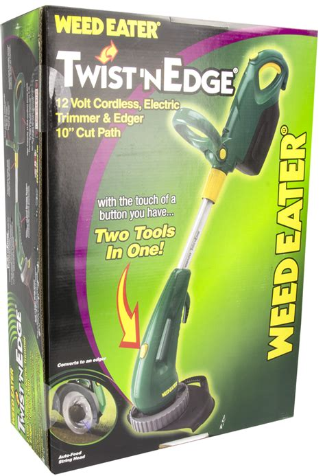 weed eater twist n edge manual new weed eater twist n edge 10 quot 12v cordless electric