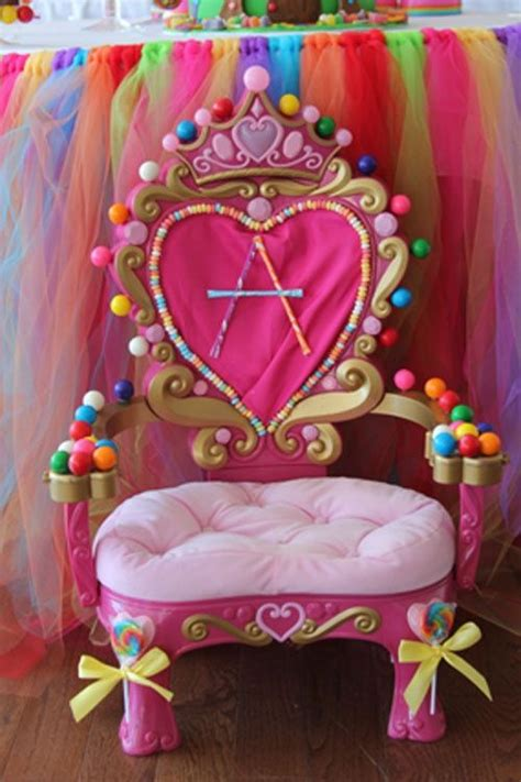 sweet 16 princess chair 17 best images about candyland on school
