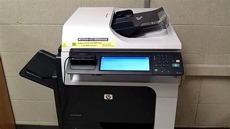 Printer Hp Z1000 hp m4555 replace toner