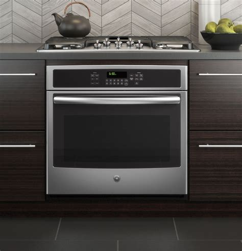 build wall oven jt5000sfss ge 174 30 quot built in single convection wall oven