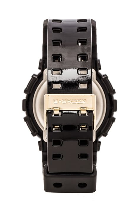 G Shock Gsd 100 Black g shock gd 100 black and gold in black for lyst
