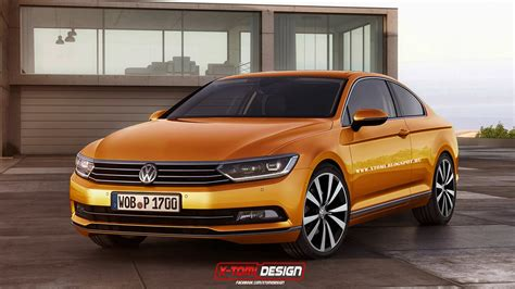 volkswagen coupe models 2015 volkswagen passat coupe and shooting brake rendered
