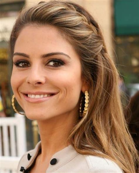 forehead braid hairstyles top 40 maria menounos gorgeous hair styles pretty designs