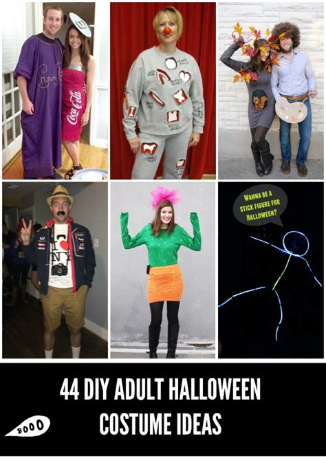homemade halloween costumes  adults craft