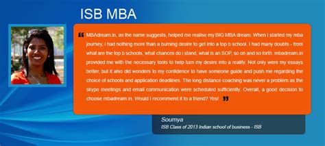 Average Salary After Mba From Isb by Review Of Isb Indian School Of Business
