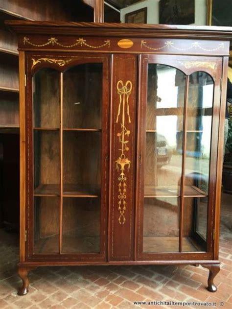 mobili vetrine mobili antichi vetrine antica vetrina inglese con