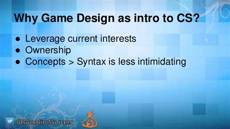 game design introduction game design as an intro to computer science meaningful