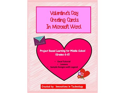 Microsoft Word Valentine039s Day Card Template