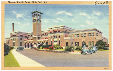 these 55 vintage arkansas postcards are a trip through time
