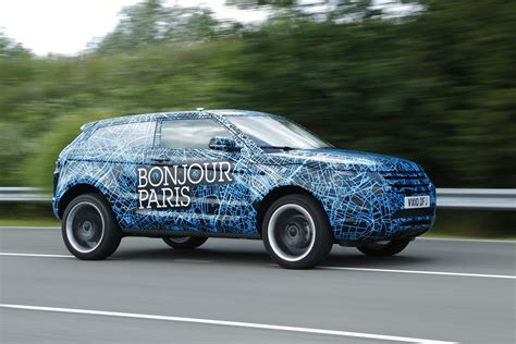 land rover camo land rover wraps evoque prototypes in funky camouflage and