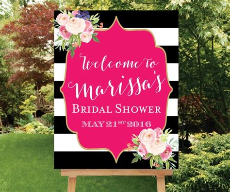 Bridal Shower Welcome Sign Template bridal shower welcome sign template www imgkid the
